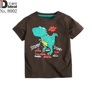 High quality 100%cotton boys t-shirt
