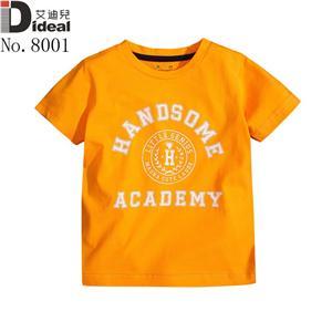 High quality 100%cotton kids t-shirt