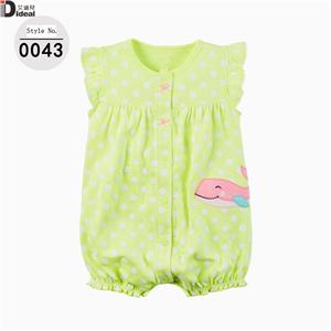 cotton kids wave point jump suit