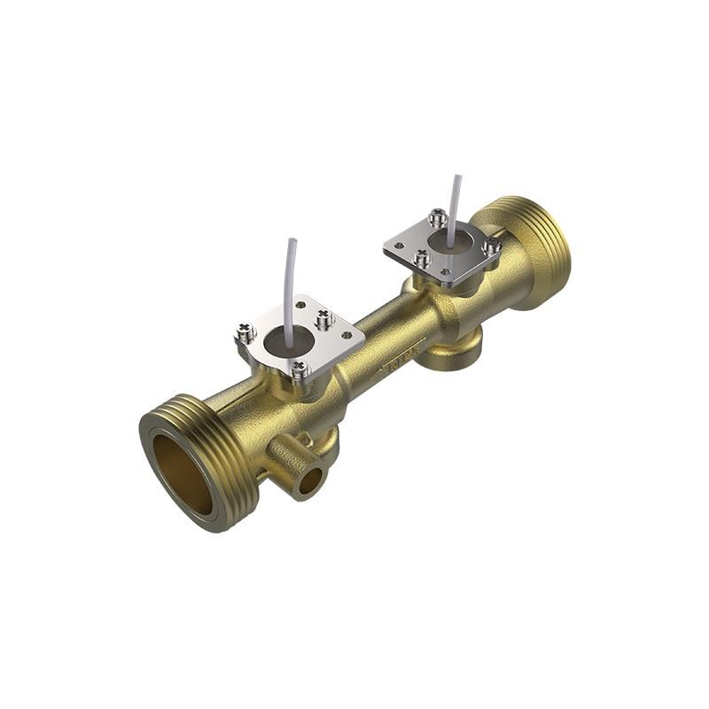 DN25真ちゅうパイプ付き超音波フローセンサー