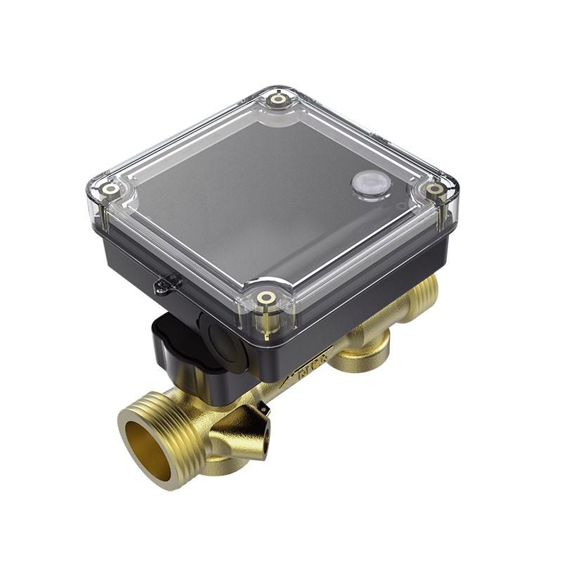 Ultrasonic Flow Sensor For Heat Meter With Brass Pipe