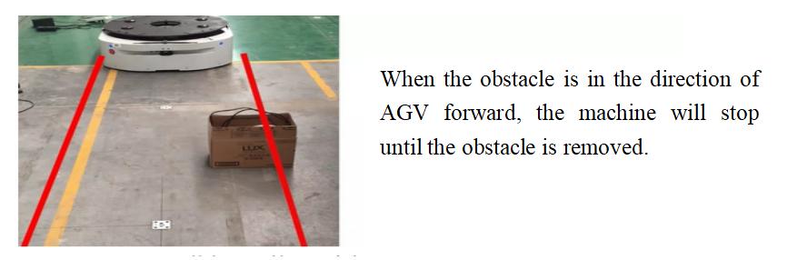 Как AGV (автомобиль с автоматическим управлением) избегает препятствий