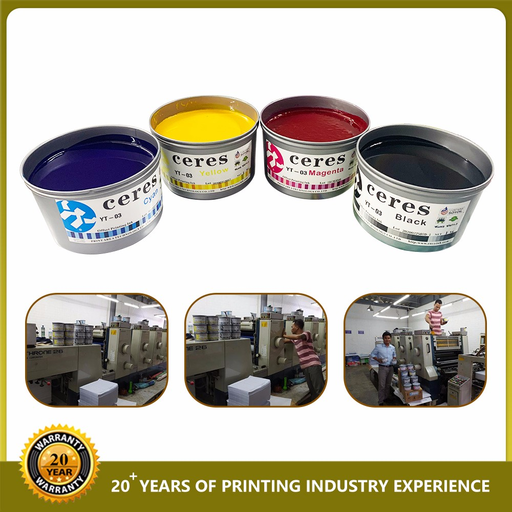 Ceres YT-03 Soy Ink For Offset Printing Machine