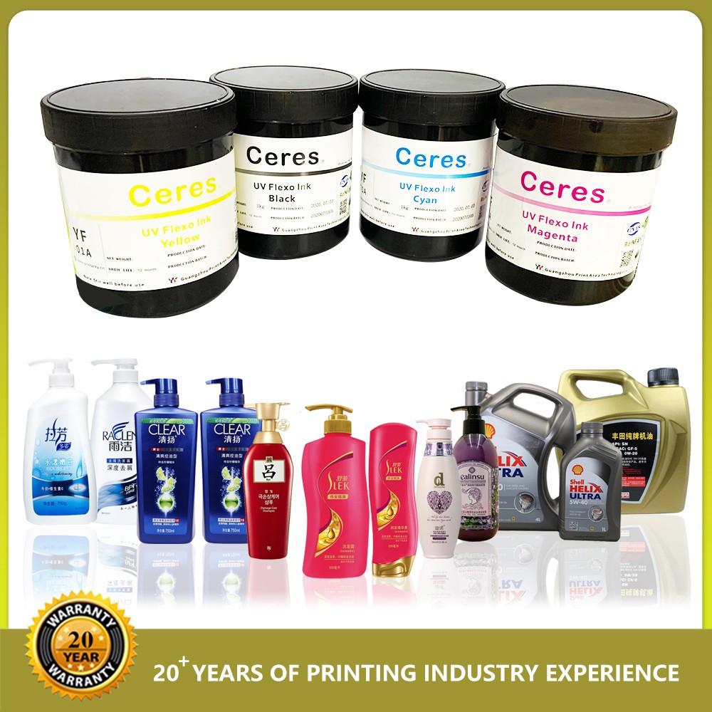 High Density UV Flexo Ink for Flexo Machine Sticker Label Printing