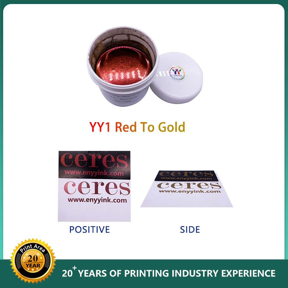 Ceres Screen Printing Color Change And Optical Variable Ink For Security Paper