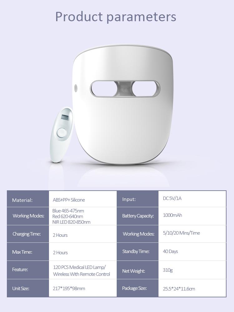 Therapie-LED-Maske