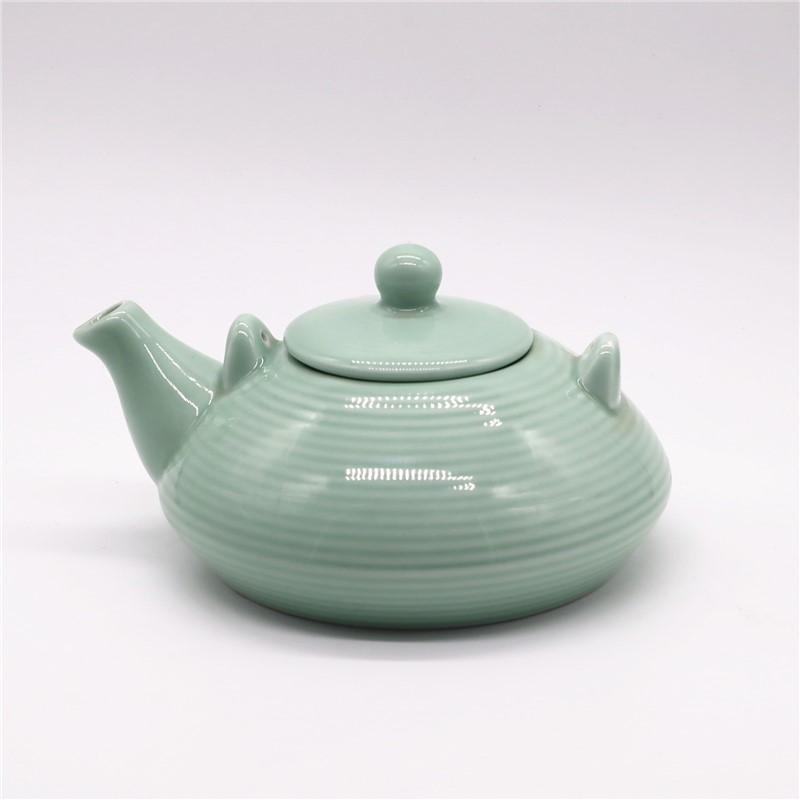 elegant ceramic teapot