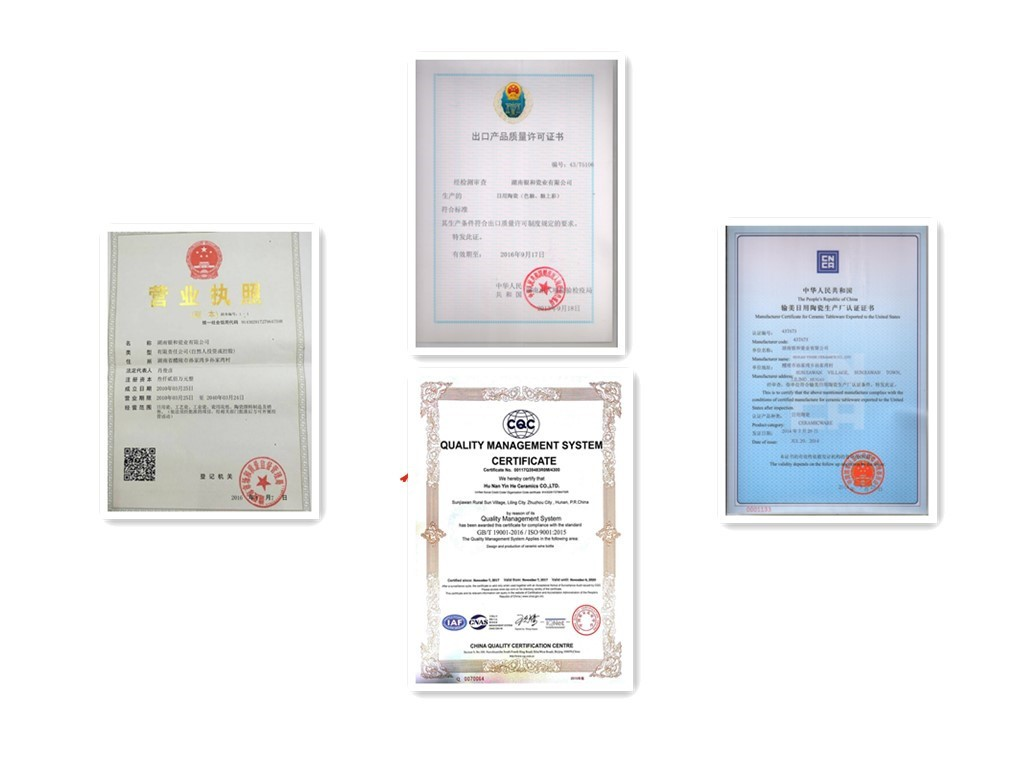 quality certificate,business license,export products quality license