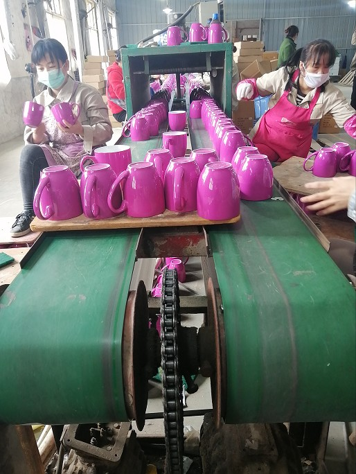 Products packing department