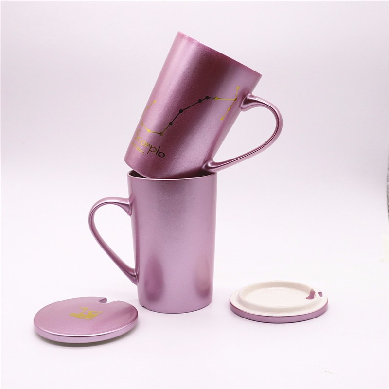 Spray Pearl Colored Ceramic Mugs With Coating Manufacturers, Spray Pearl Colored Ceramic Mugs With Coating Factory, Supply Spray Pearl Colored Ceramic Mugs With Coating