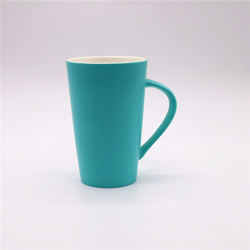 Cryogenic Matt Color Spray Ceramic Mugs