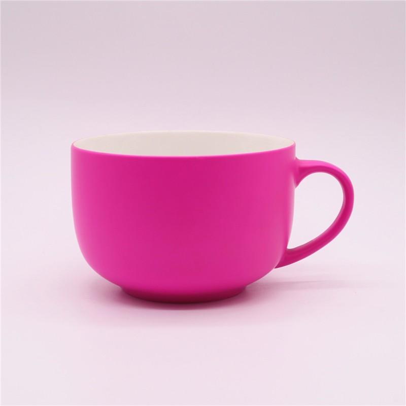 Silicon Coated Ceramic Mug