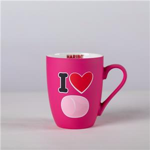 Coated Soft Touch Mugs With Decals