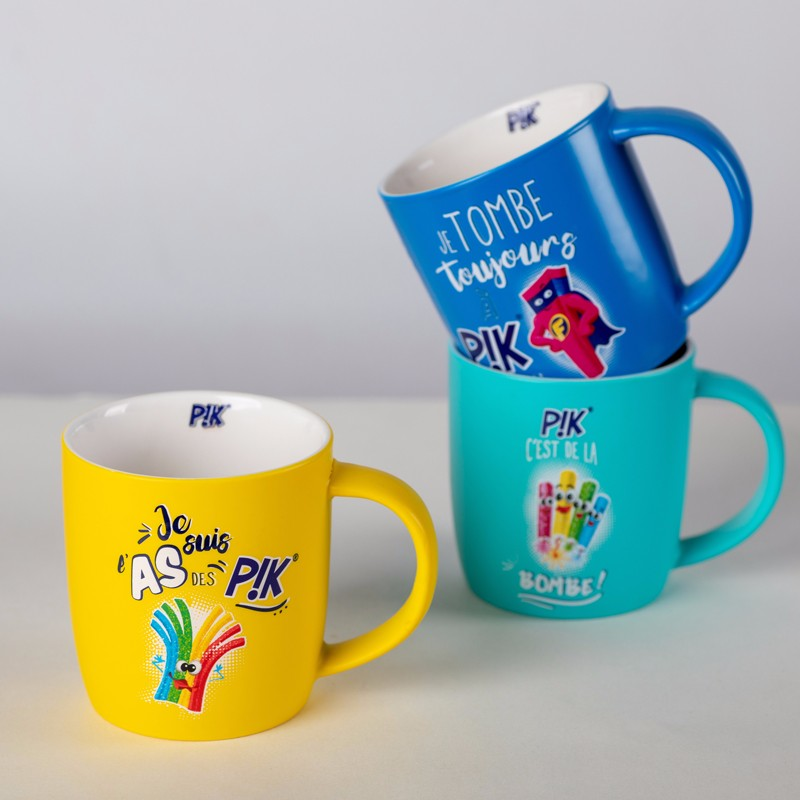 All Color Low Temperature Glazed Ceramic Mugs