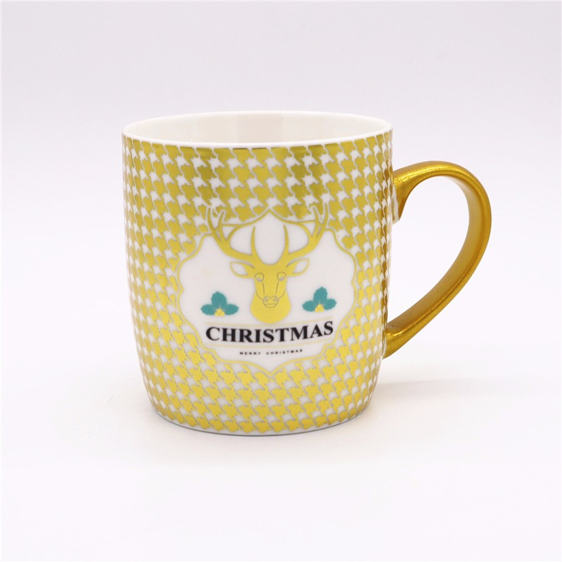 Low Temperature Electroplating Multicolor Spraying Ceramic Mugs