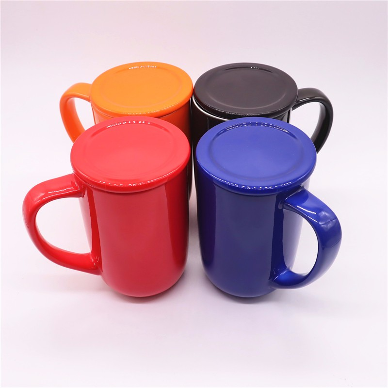 Ceramic Coffee Mug With Lid And Handle Manufacturers, Ceramic Coffee Mug With Lid And Handle Factory, Supply Ceramic Coffee Mug With Lid And Handle