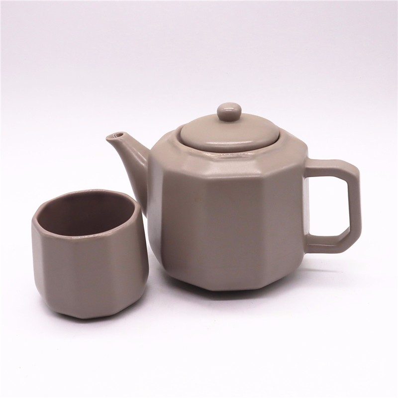 Ceramic Teapot And Cup Collection