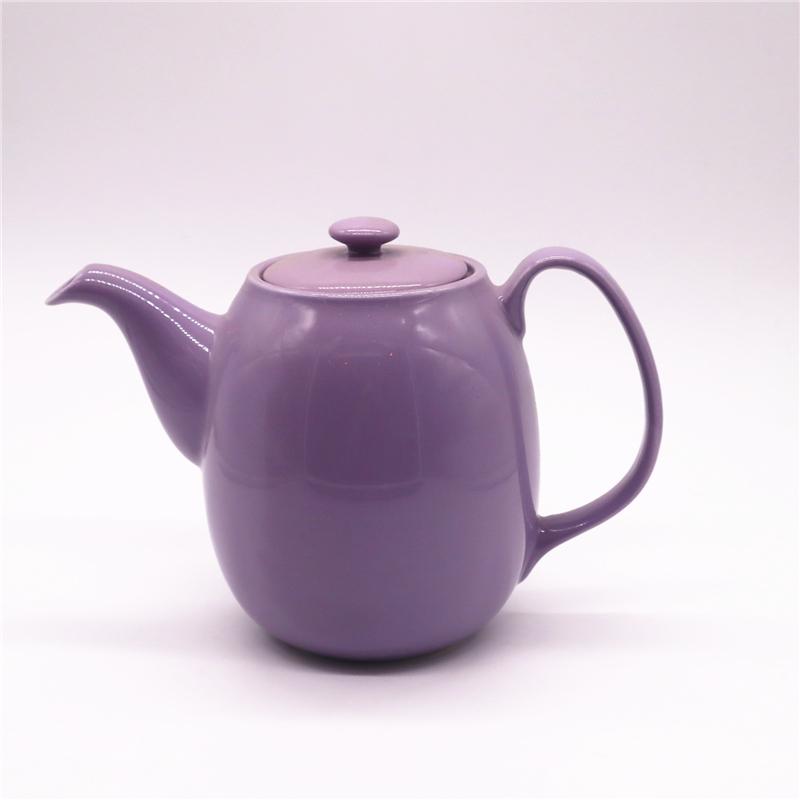 ceramic glazed teapot