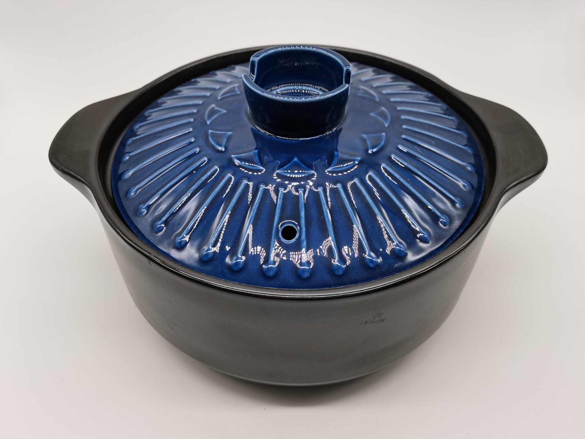 Heat Resistant Ceramic Casserole With Lid