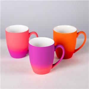 Multicolor Ceramic Electroplated Mugs