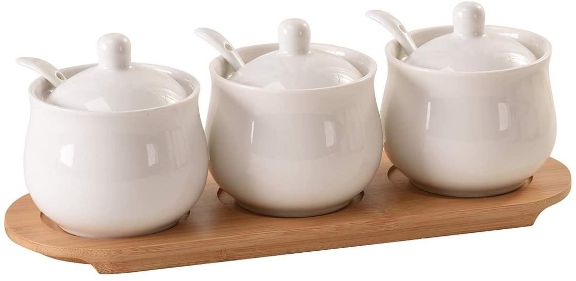 ceramic condiment jar