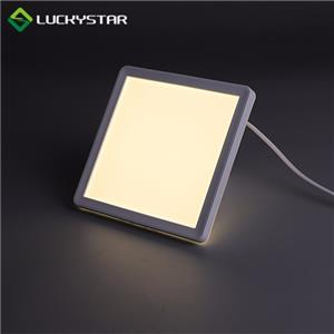 LED Ceiling Light 12W Square 190mm 7.5inch Slim Design