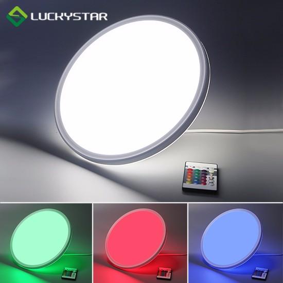 RGBW LED Deckenleuchte 22W Round 420mm 16.5inch Slim Design