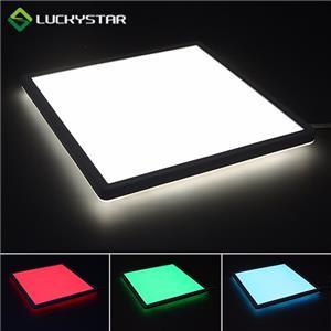 RGBW LED Deckenleuchte 15W Quadrat 293mm 11.5inch Slim Design