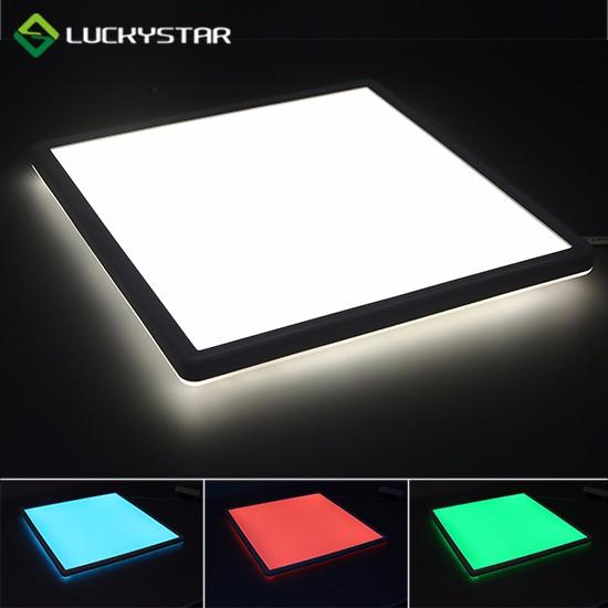 RGBW LED Deckenleuchte 22W Rechteck 580 mm x 200 mm 23 x 8 Zoll schlankes Design