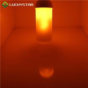 4W LED Flame Bulb With Gravity Sensor