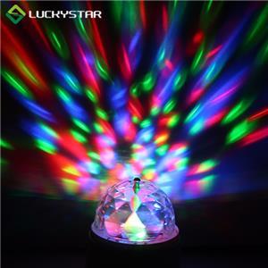 Batteriebetriebene LED-Disco-Lampe