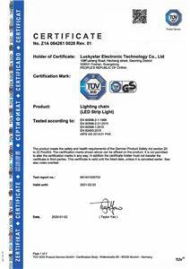 TÜV-Zertifizierungen