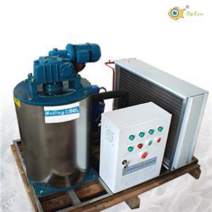3 T seawater flake ice machine