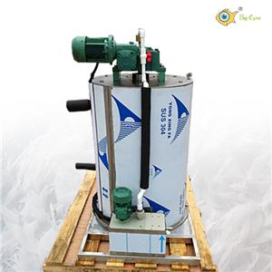 3T/Day seawater ice maker with ice flaker