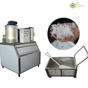 1 Ton flake ice machine with fresh water