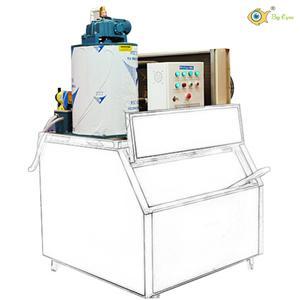 countertop ice machine 500kg to 2Ton