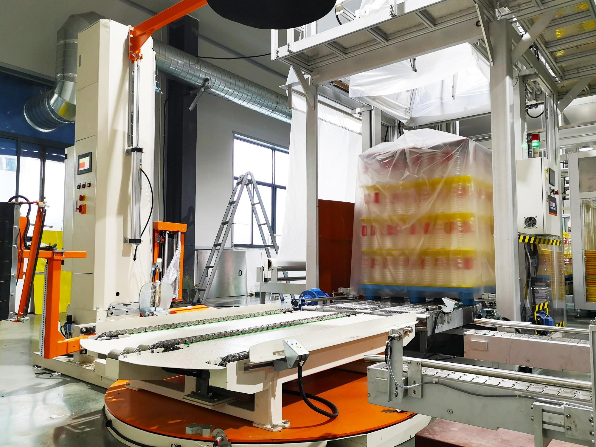 Pallet Bagging Machine Manufacturers, Pallet Bagging Machine Factory, Supply Pallet Bagging Machine