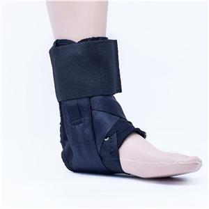 Lace-up Sport Strap Ankle Brace With Plastic Stays