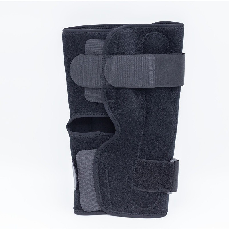Breathable Sport Aluminum Hinged Knee Support Open Type