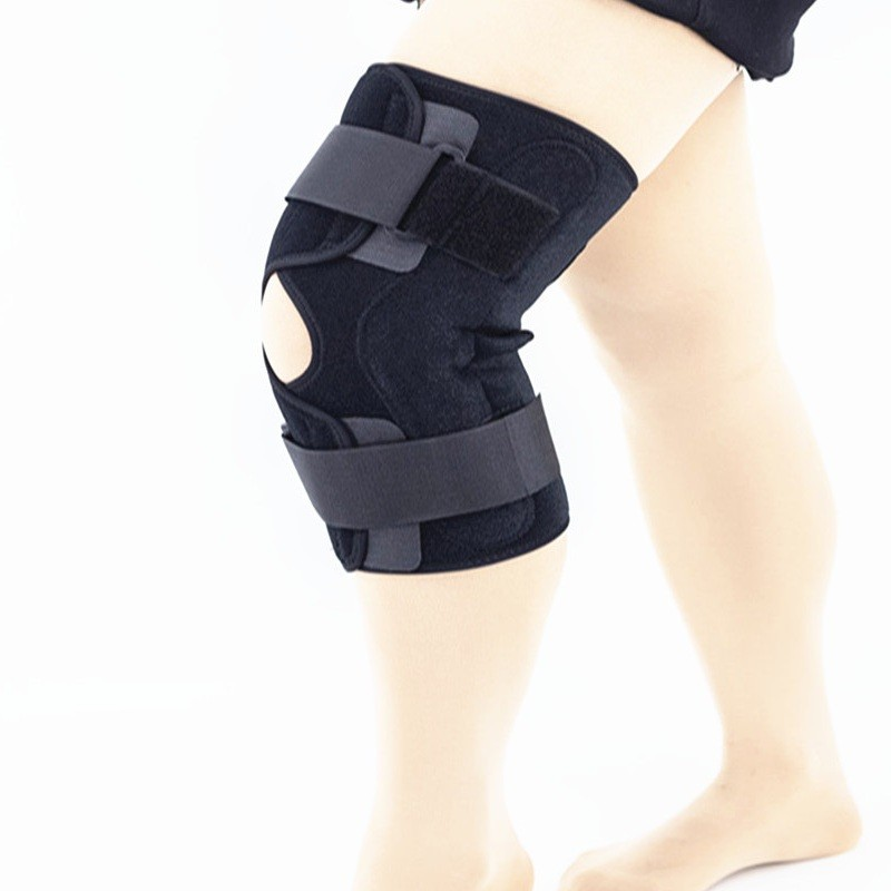 Breathable Sport Aluminum Hinged Knee Support Open Type Manufacturers, Breathable Sport Aluminum Hinged Knee Support Open Type Factory, Supply Breathable Sport Aluminum Hinged Knee Support Open Type