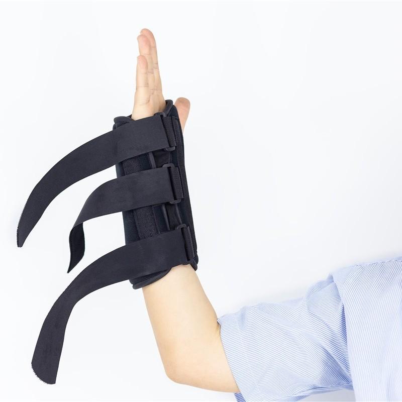 Verstellbare Handschiene für die Handgelenkstütze zur Nachthilfe