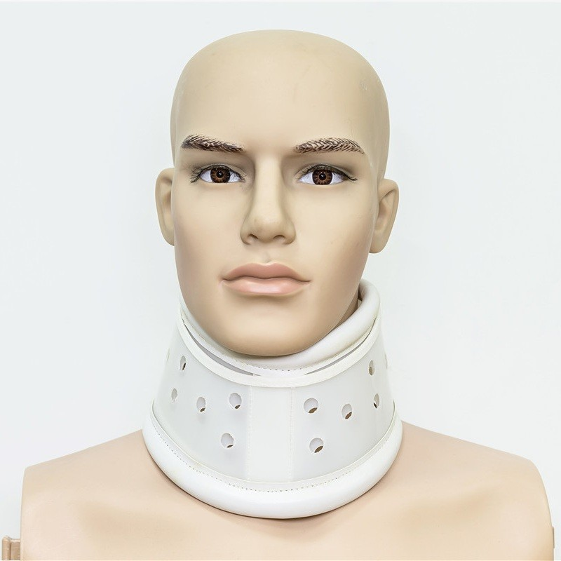Orthopedic Leather Nighttime Neck Collar Support