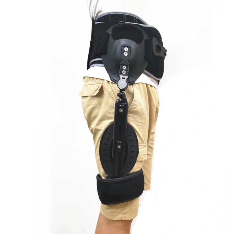 Adjustable Hinged Hip Abduction With ROM And LSO Waist Belts