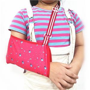 Детский слинг для сломанной руки с принтом для детей
