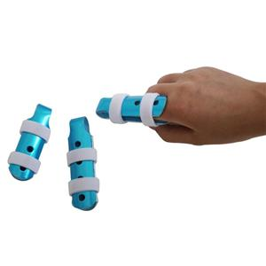 Adjustable Aluminum Finger Cover With Straps