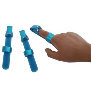 Medical Baseball Finger Splint With Alunimum And Foam