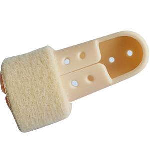 Breathable Rigid Plastic Finger Cot Brace