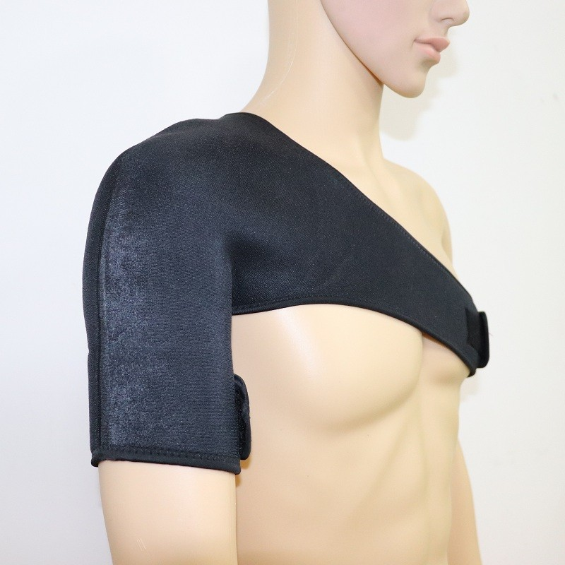 Sports Shoulder Brace With Stretch Straps And Prevention Stabilizer