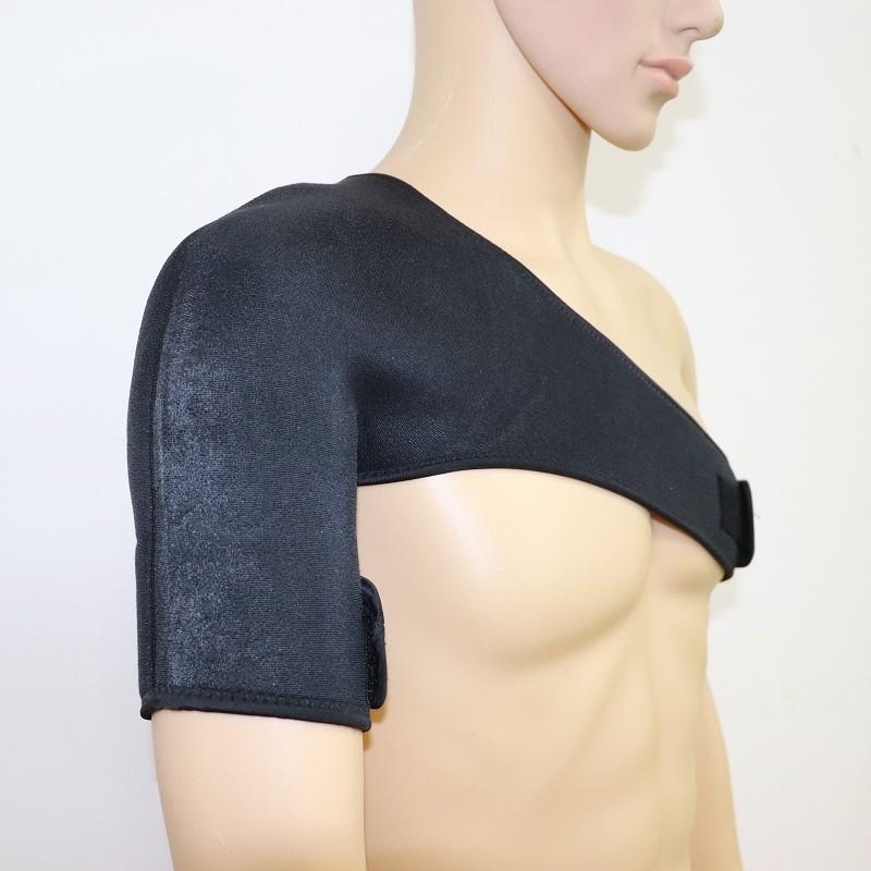 Спортивный плечевой бандаж с эластичными ремнями и предохранительным стабилизатором