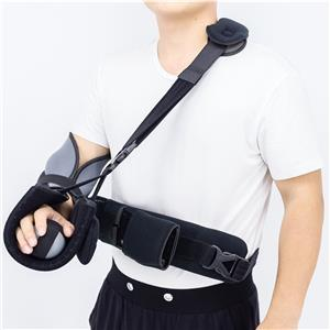 Extension Shoulder Immobilizer With Metal Supports